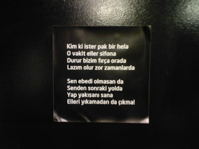 Yurdum Tuvaletlerinden 24 Komik Uyarı Yazısı Haberself Türkiye