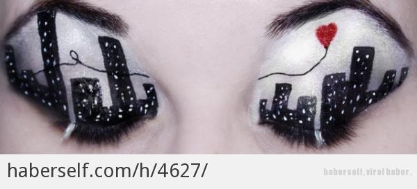 Bayanların çok seveceği birbirinden güzel 16 göz makyajı